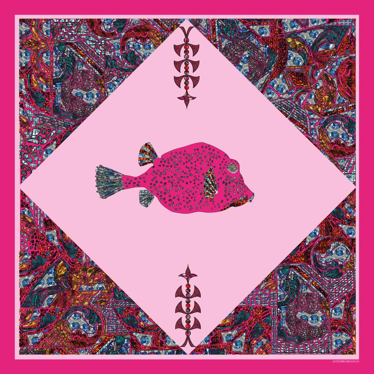 Fish 1 Pink