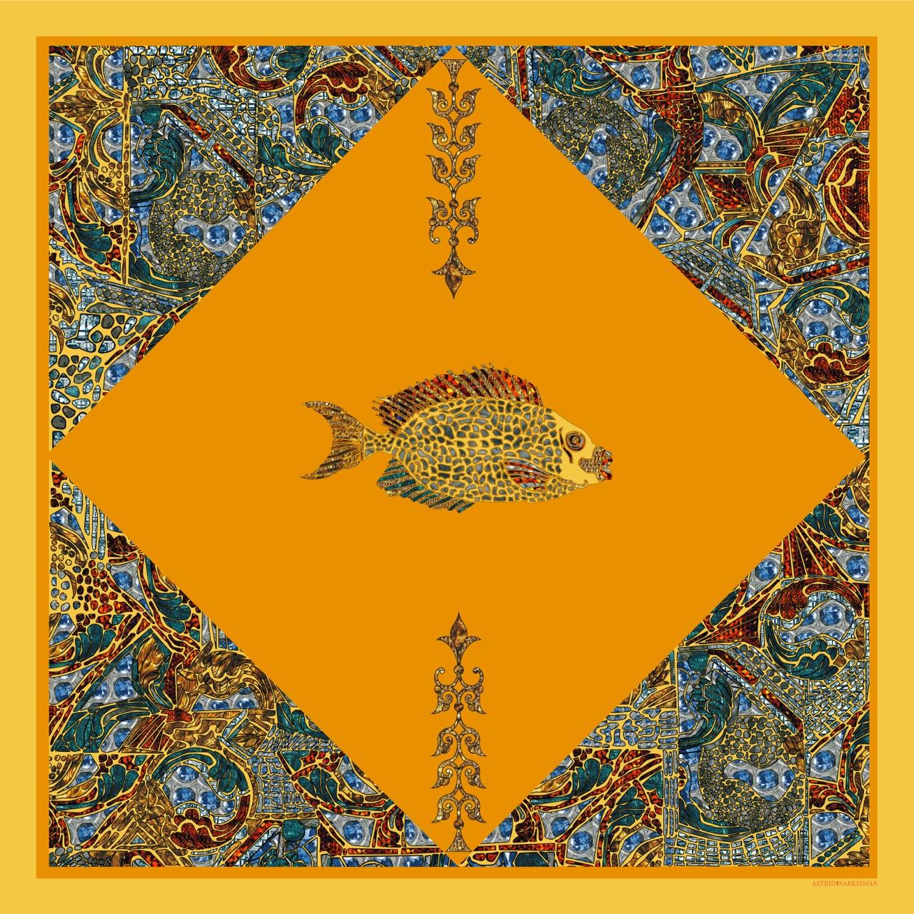 Fish 2 Yellow